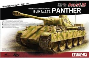 Meng 1 35 German Medium Tank Panther Ausf D