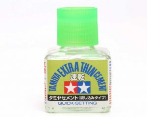 Tamiya Extra-Thin Cement 40ml Quick-Setting