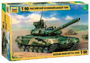 Zvezda Models 1 35 T-90 Russian Main Battle Tank