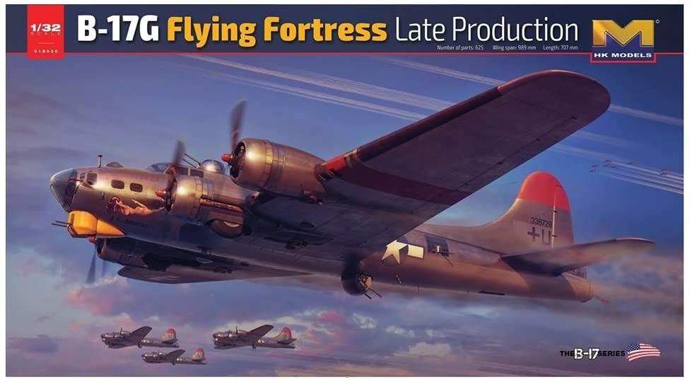 HK Models 1/32 Scale B-17G Flying Fortress Late Prod - 01E030