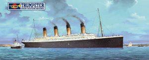 Trumpeter 03719 1/200 RMS Titanic + LED Lights Model kit